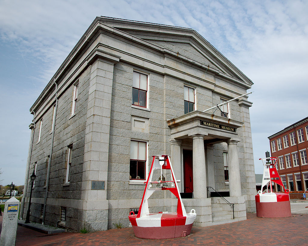 Custom House Maritime Museum in Newburyport, MA