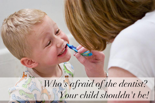 tips for helping your child love the dentist Blog Header Image
