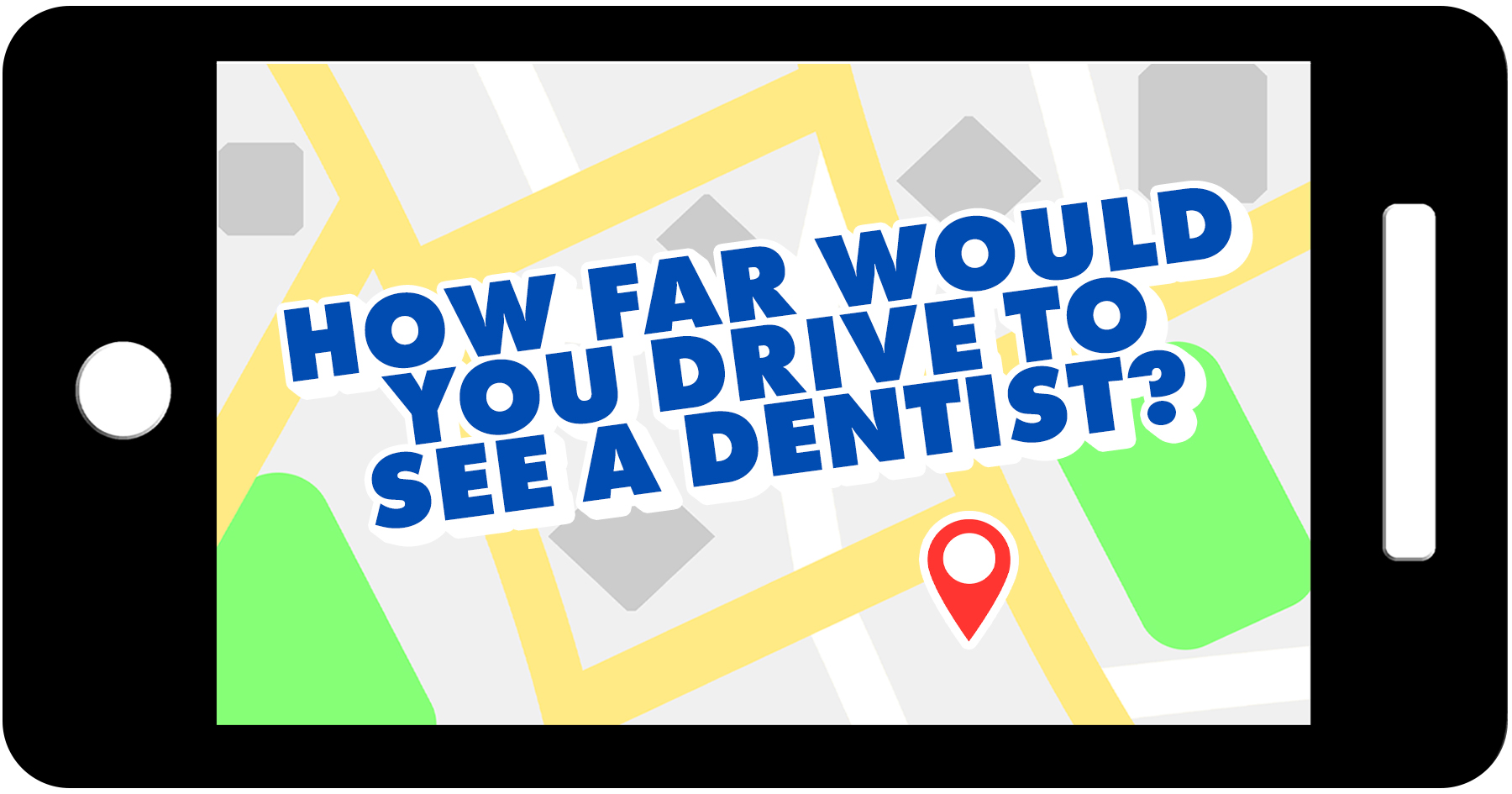 How far to travel to dentist in New Hampshire