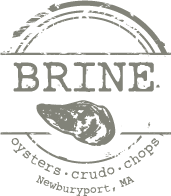 Brine Oysters Crudo Chops in Newburyport, MA