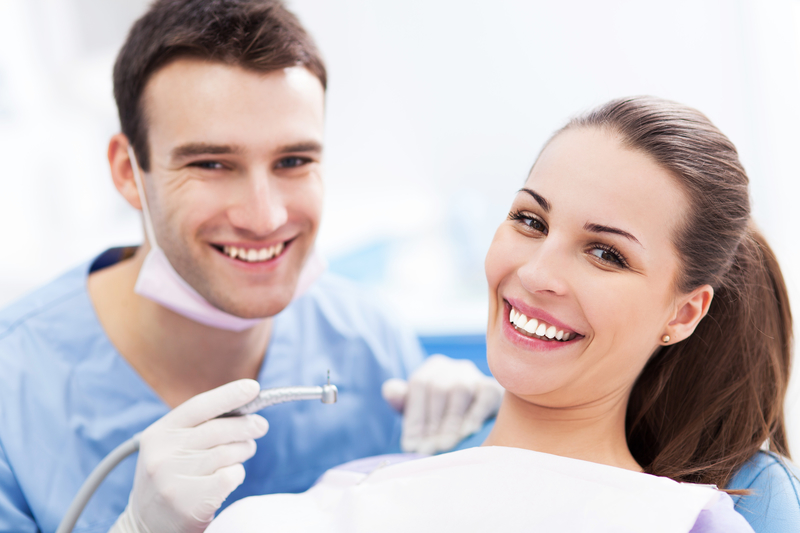 Dentist and Patient Smiling with Sedation Dentistry