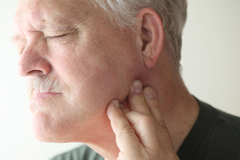 Older Man with TMJ TMD Symptoms & Pain in Newburyport, MA